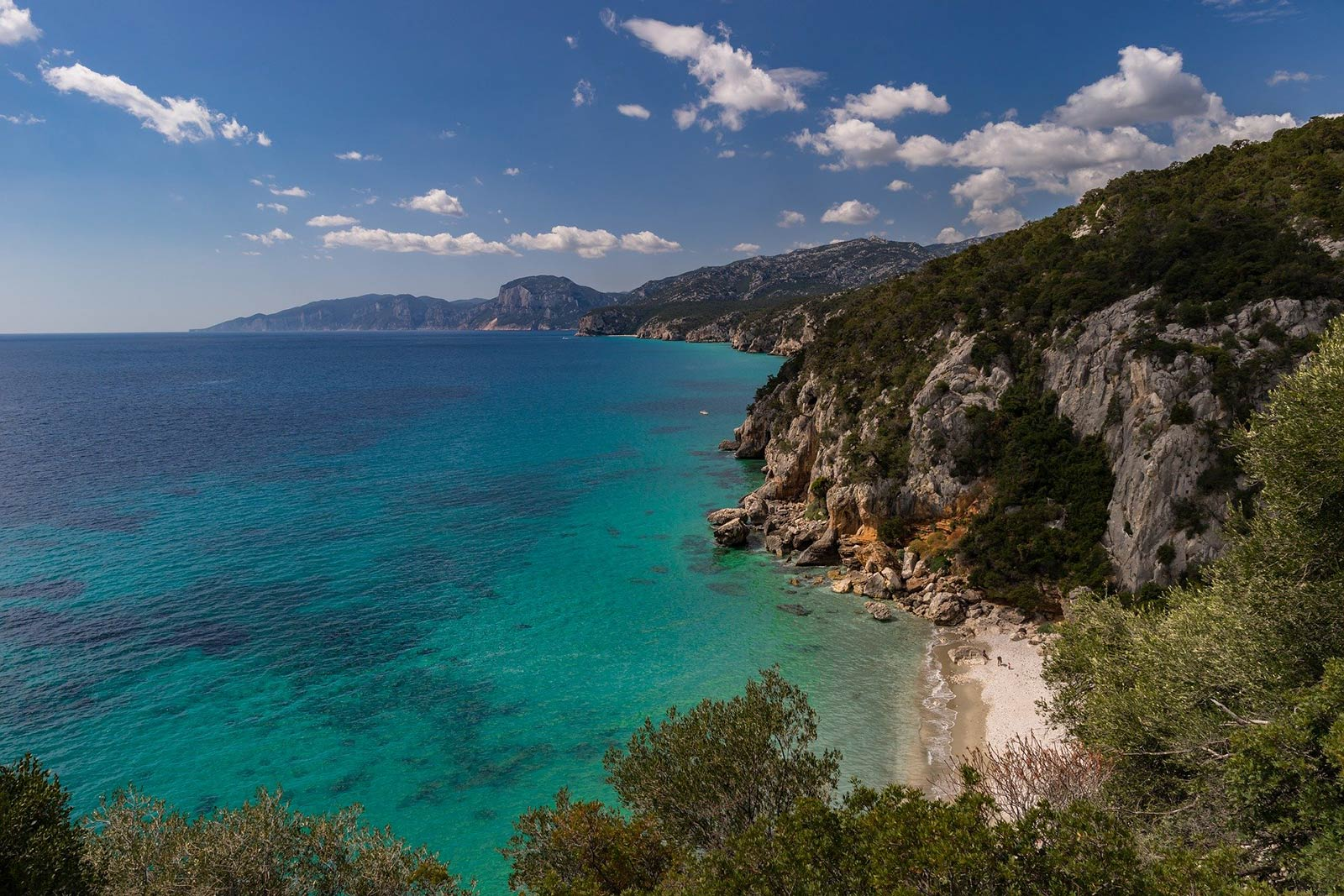 Randonnées de bord de mer en Italie